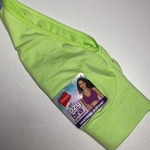 Hanes Get Cozy Bra 2X or 3X Wireless Pullover